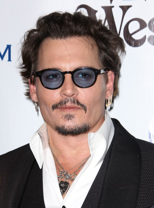 johnny-depp Top 60 Celebrities With A Beard