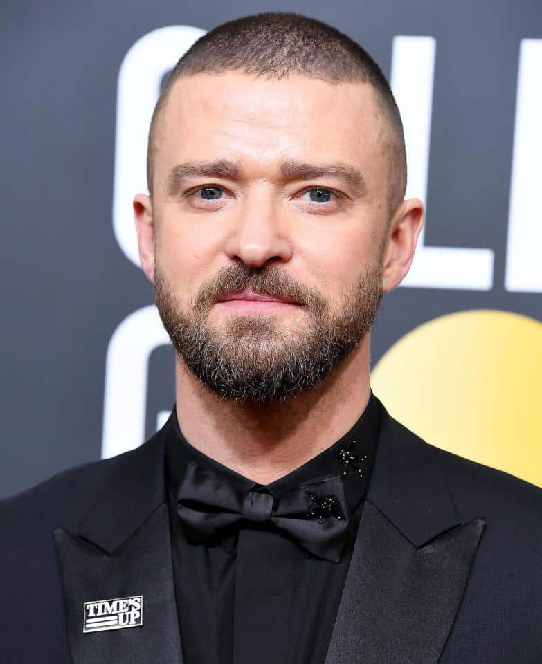 justin-timberlake Top 60 Celebrities With A Beard