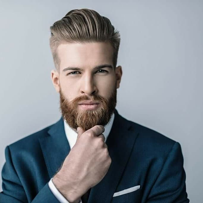 medium-beard-style-for-interview 15 Professional Beard Styles for Your Next Interview