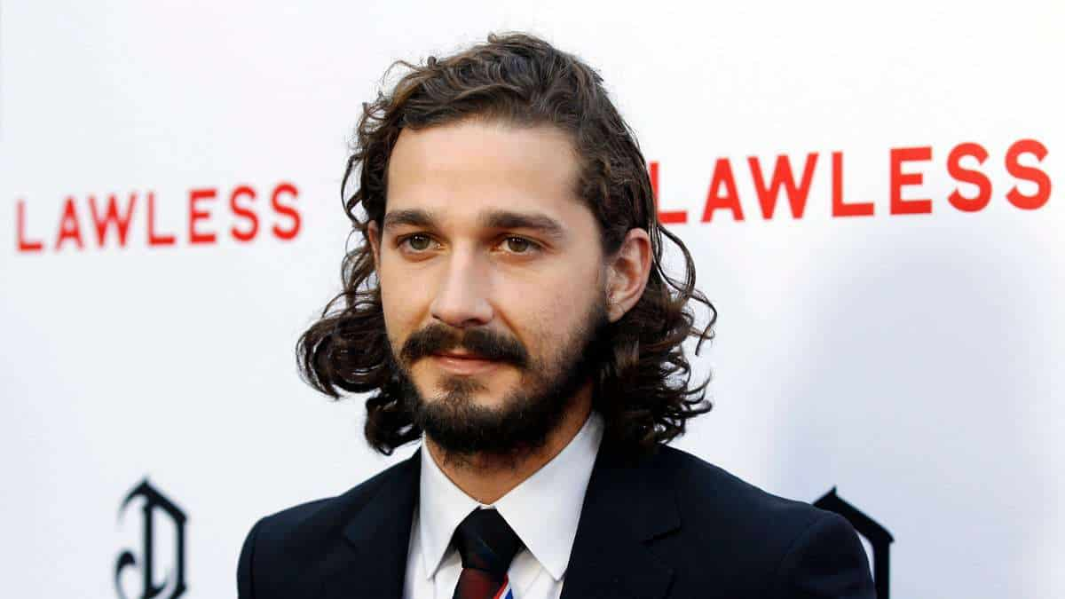 shia-labeouf Top 60 Celebrities With A Beard
