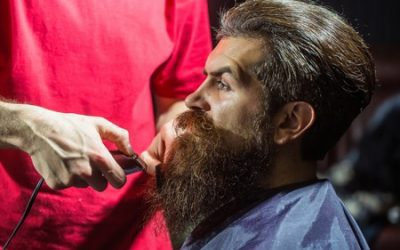 how to shape or trim long beard