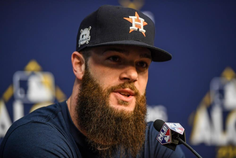 usp_mlb__alcs-houston_astros_workouts_94531397-1 Top 10 Beard Styles Ever Donned by Sportsmen