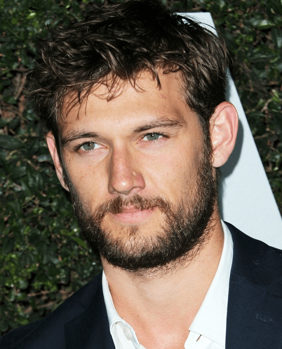 Alex-pettyfer Top 60 Celebrities With A Beard