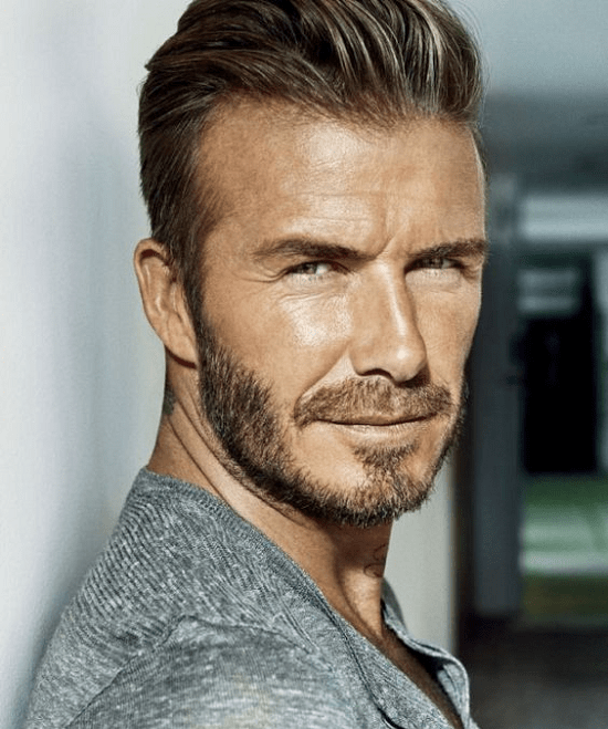 David-Beckham Top 60 Celebrities With A Beard