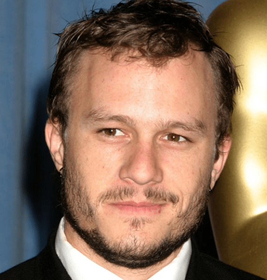 Heath-ledger Top 60 Celebrities With A Beard