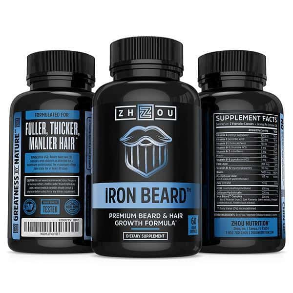 IRON-BEARD-new Beard Grow XL Vs. Iron Beard Vs. Vitabeard: Which One Works Best?