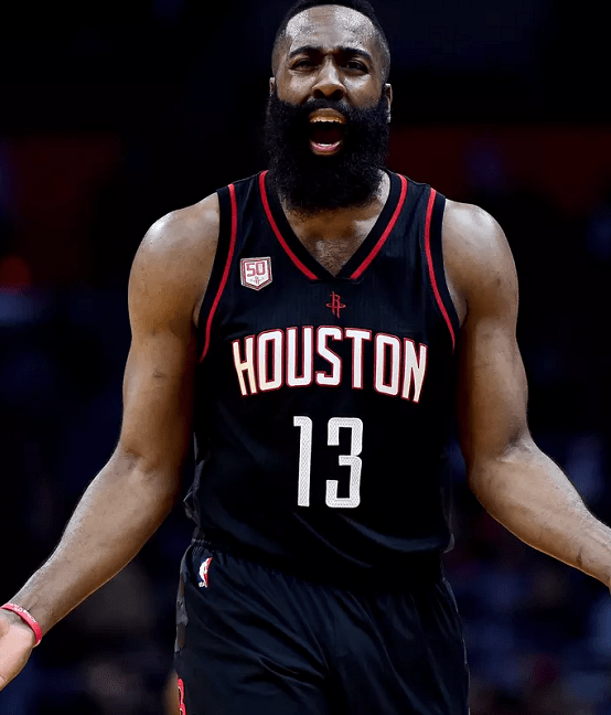 James-Harden Top 60 Celebrities With A Beard