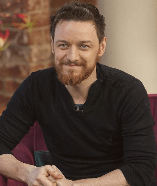 James-McAvoy Top 60 Celebrities With A Beard