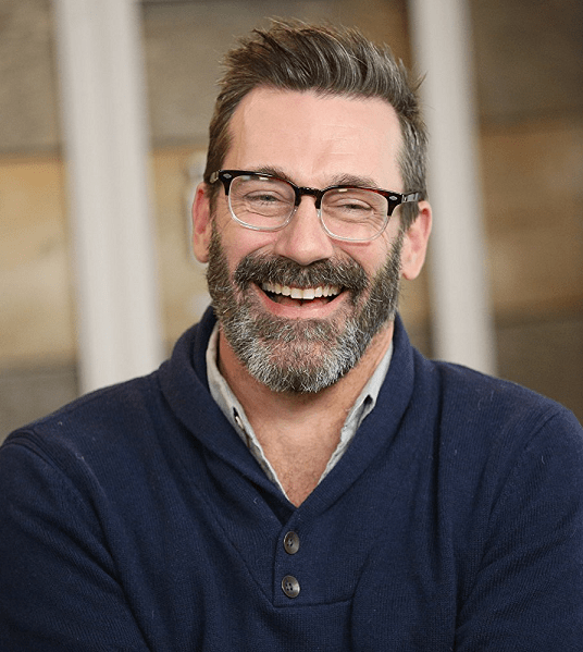 Jon-Hamm Top 60 Celebrities With A Beard