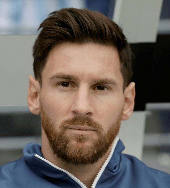 Lionel-Messi Top 60 Celebrities With A Beard