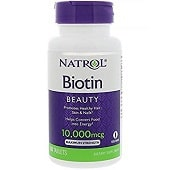 Natrol-Biotin-Maximum-Strength-Tablets Biotin for Beard Growth: Top 5 Biotin Products Reviewed