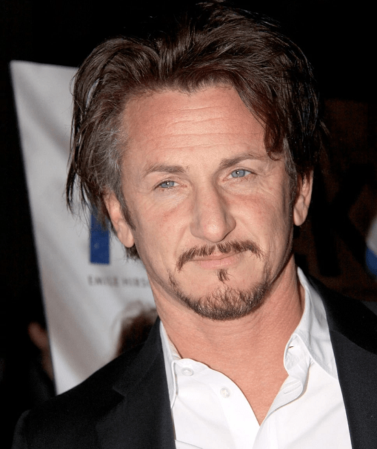 Sean-Penn Top 60 Celebrities With A Beard