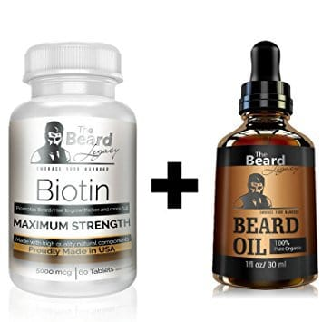 The-Beard-Legacy-new Biotin for Beard Growth: Top 5 Biotin Products Reviewed