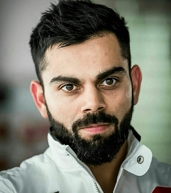 Virat-kohli Top 60 Celebrities With A Beard