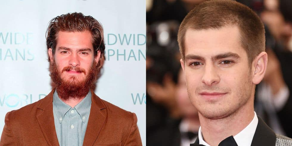 andrew-garfield- 10 Men With Beards Vs Without Beard: Unveiling the  Change