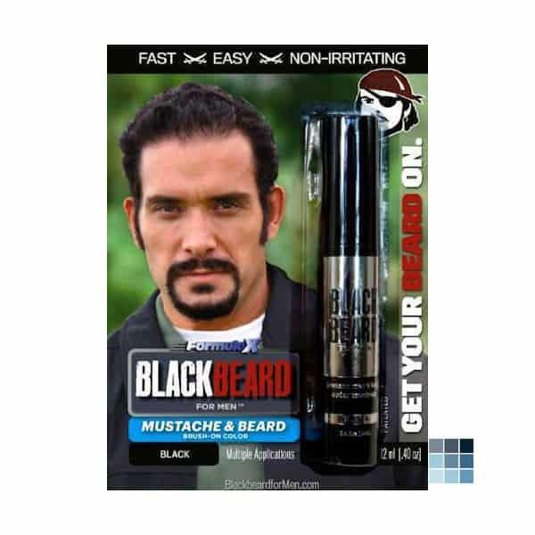 black-beard-for-men 7 Best Beard Dye Review: User Guideline & Ratings
