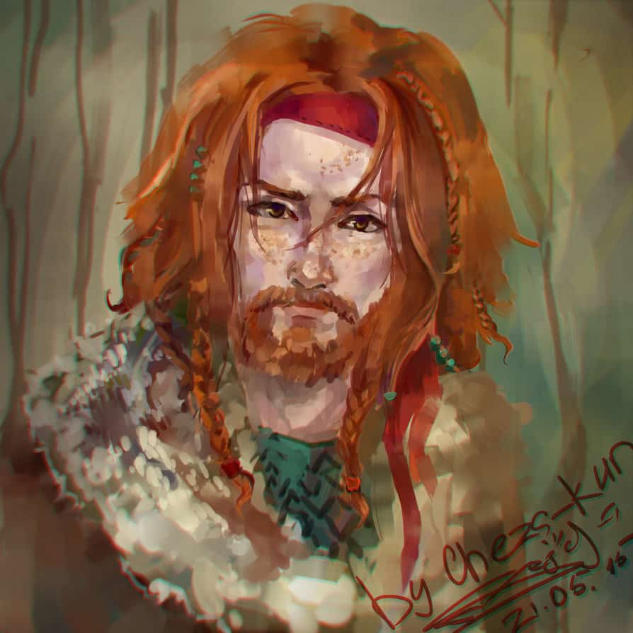 captain_ginger_beard_by_cheza_kun-d8u6zvg 11 Facts & Myths About Growing A Ginger Beard