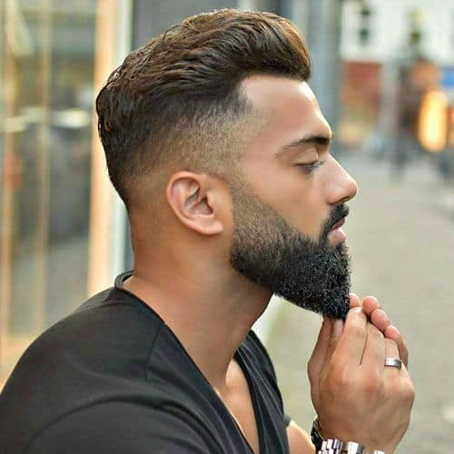 fade and taper beardstyle