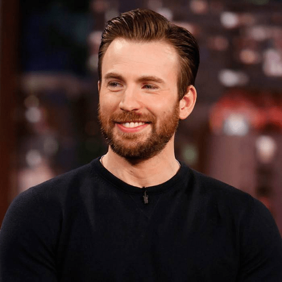 chris-evans Top 60 Celebrities With A Beard