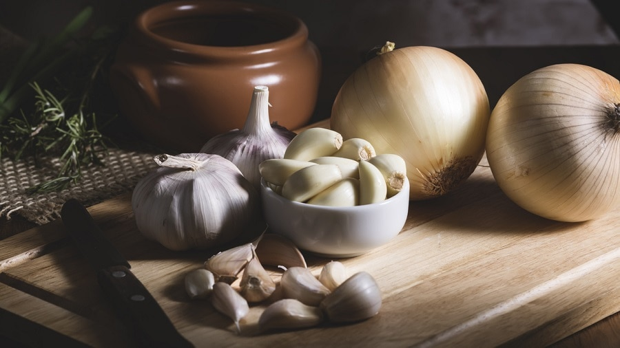 garlic for beard growth