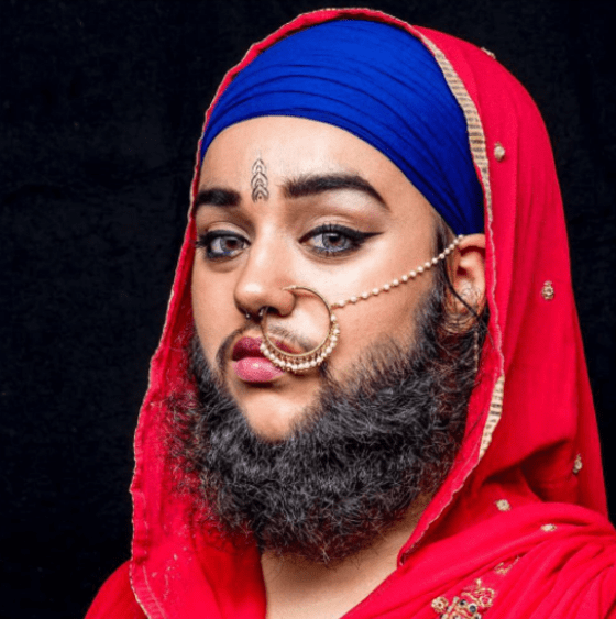 harnaam 7 Unbelievable Girls with A Beard Better Than Most Men
