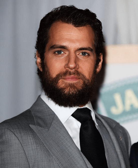 henry-cavill Top 60 Celebrities With A Beard
