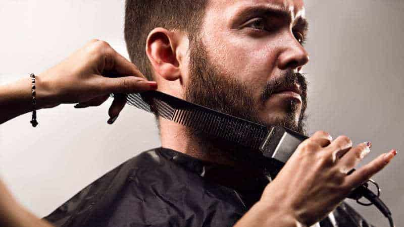 how to taper a beard