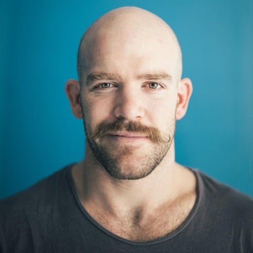 tumblr_olp5yvFBCX1r9jbvqo1_500 How A Bald Guy Should Wear A Mustache + Top 5 Styles