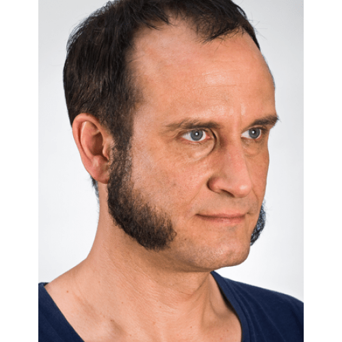 Kryolan-09223-Off-Centre-500x500 40 Kick-Ass Mutton Chop Sideburns for The Boldest Look