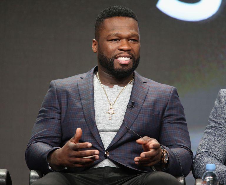 50 Cent with beard