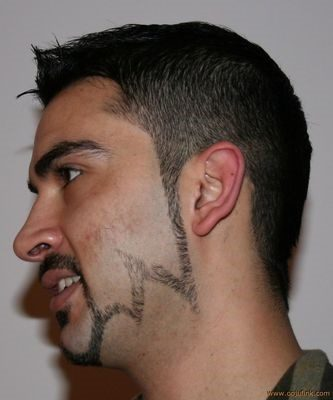 Designer-Chin-Strap-with-a-Connected-Mustache-e1543749379731 100 Trendy Chin Strap Beard Styles to Copy