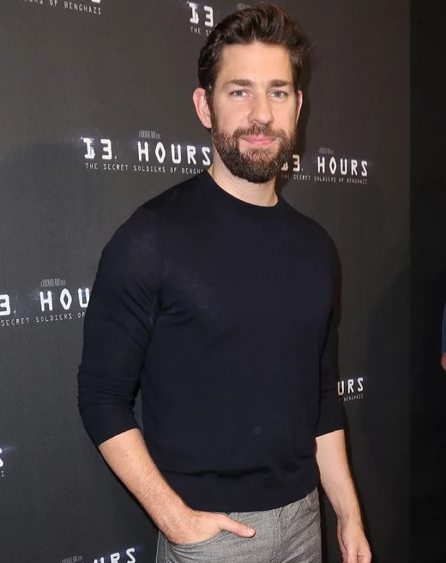 John-Krasinski-with-beard Top 60 Celebrities With A Beard