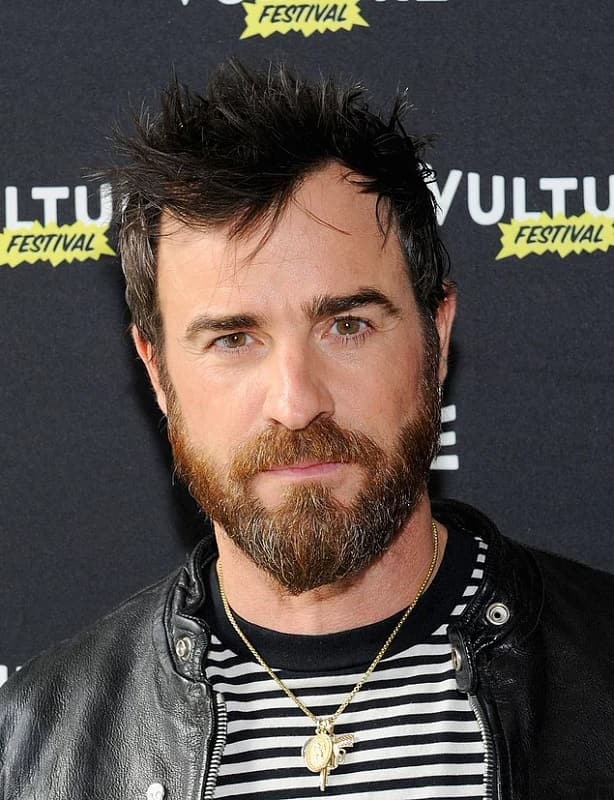 Justin-Therouxs-beard-style Top 60 Celebrities With A Beard
