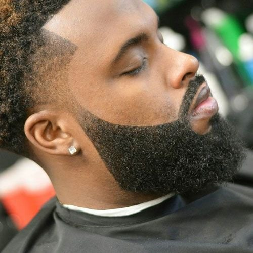 Square-Jawed 70 Trendiest Beard Styles for Black Men [2018 Updated]