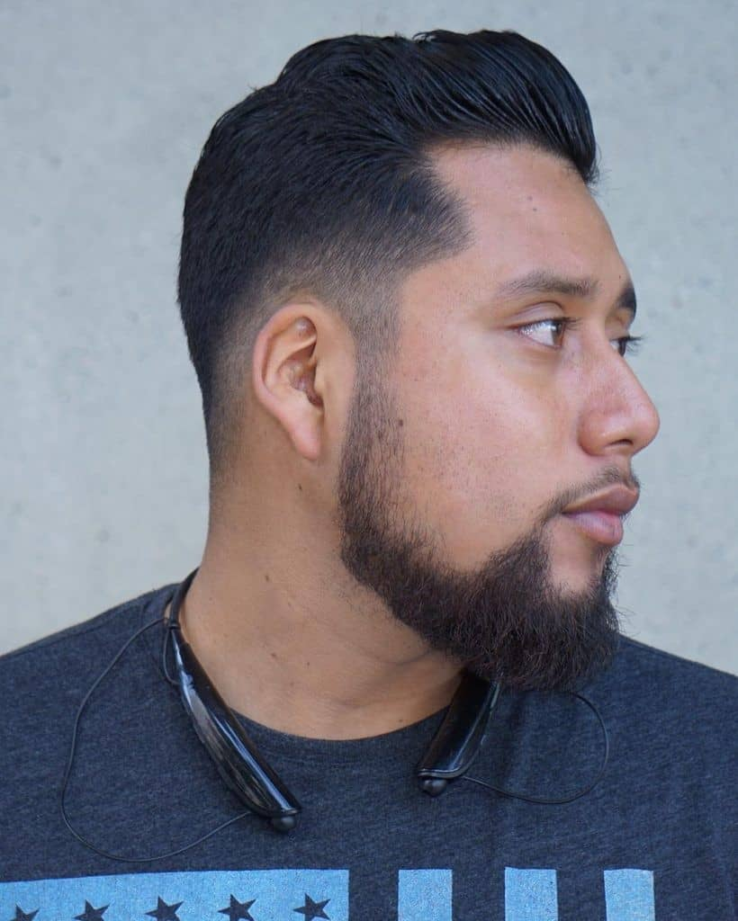 Thick-Colorful-Chin-Strap-min 100 Trendy Chin Strap Beard Styles to Copy