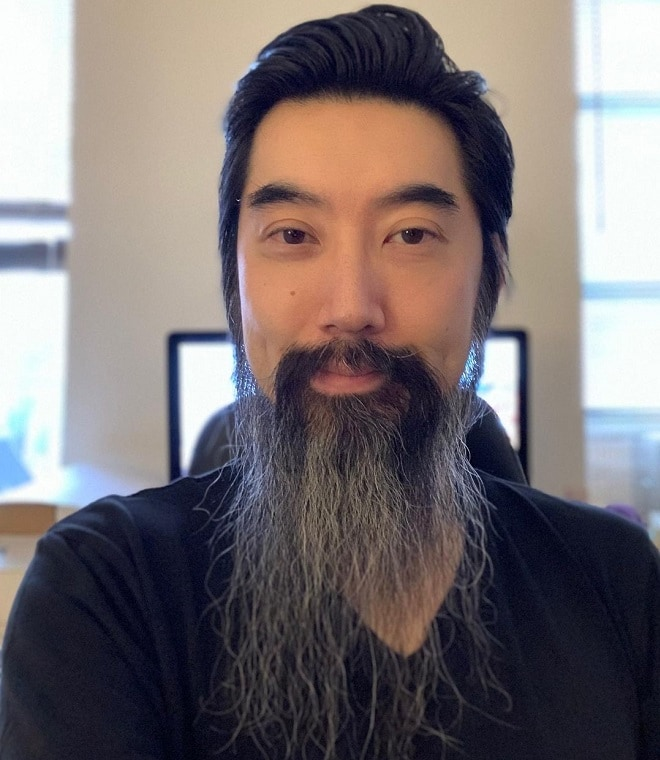 asian-long-beard 70 Sexy Long Beard Styles for Men