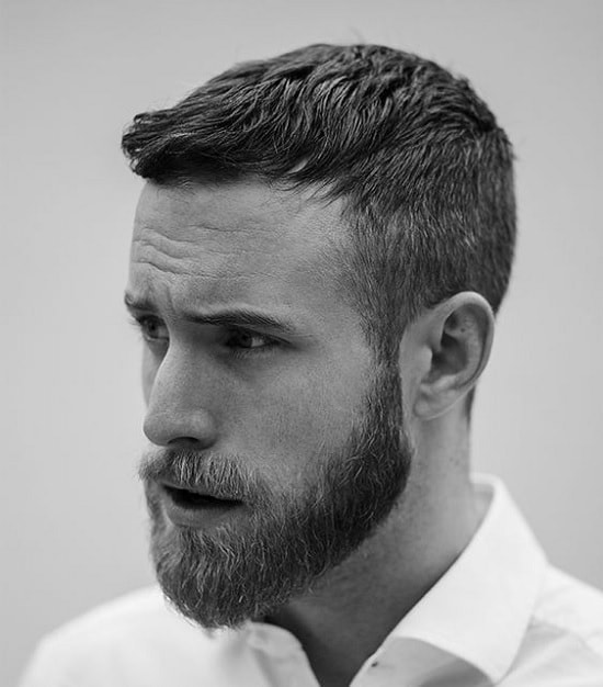 beard-with-short-hair-61 80 Manly Beard Styles for Guys With Short Hair