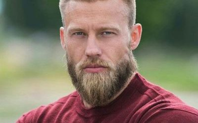 beard styles for men with short hair