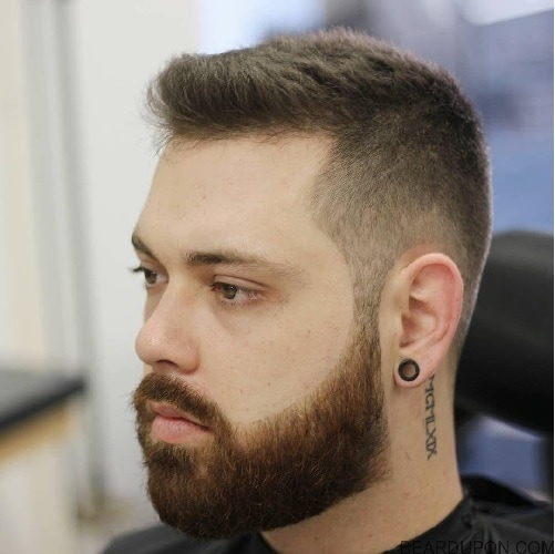 beard-with-short-hair3 80 Manly Beard Styles for Guys With Short Hair