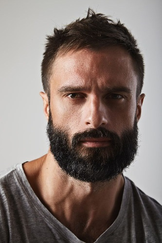beard-with-short-hair41 80 Manly Beard Styles for Guys With Short Hair