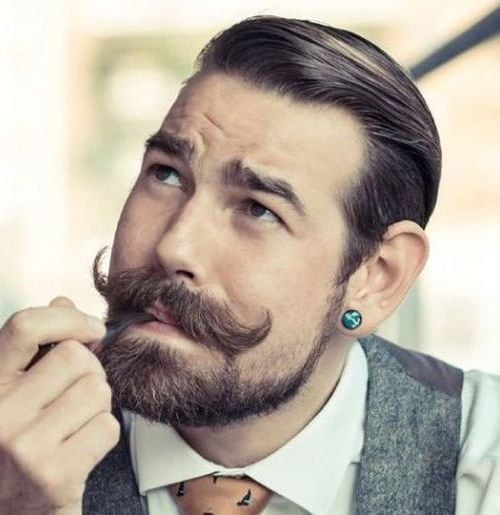 beard-with-short-hair42 80 Manly Beard Styles for Guys With Short Hair