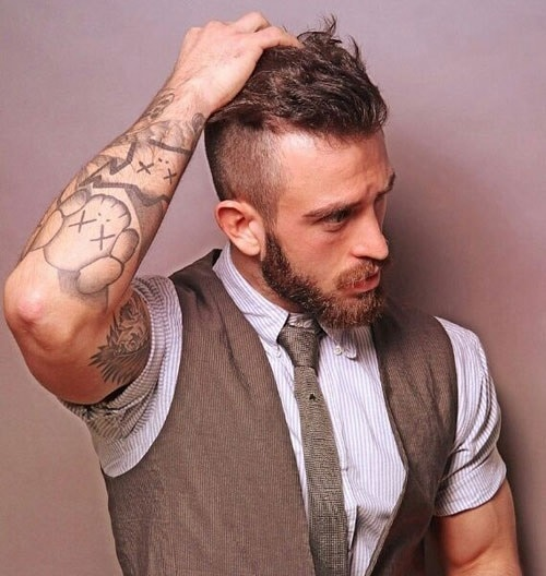 beard-with-short-hair47 80 Manly Beard Styles for Guys With Short Hair