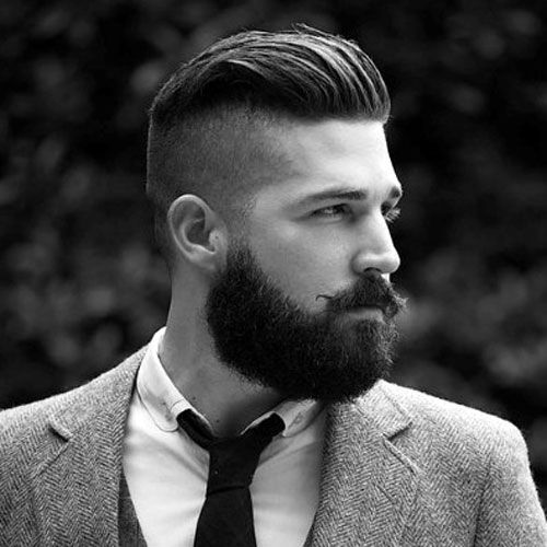 beard-with-short-hair49 80 Manly Beard Styles for Guys With Short Hair