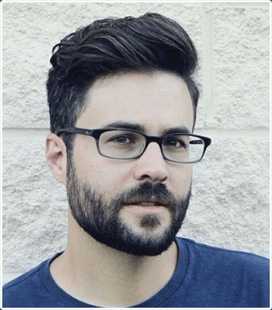 hairstyles-with-beards-11 100 Incredible Hairstyles With Beard To Try (2020)