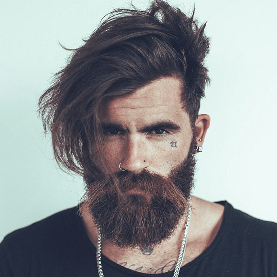 hairstyles-with-beards-15 100 Incredible Hairstyles With Beard To Try (2020)
