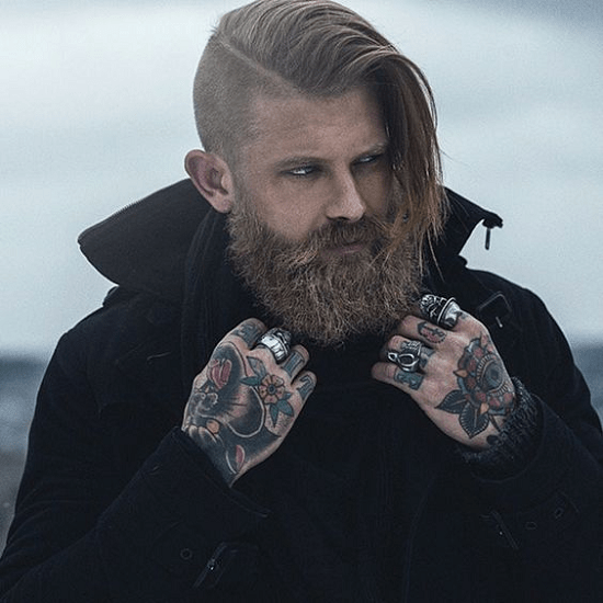 hairstyles-with-beards-17 100 Incredible Hairstyles With Beard To Try (2020)