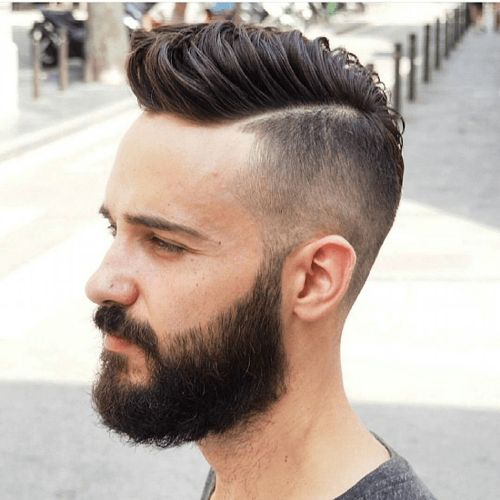 hairstyles-with-beards-21 100 Incredible Hairstyles With Beard To Try (2020)