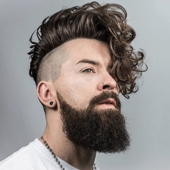 hairstyles-with-beards-28 100 Best Hair & Beard Style Combinations for 2018