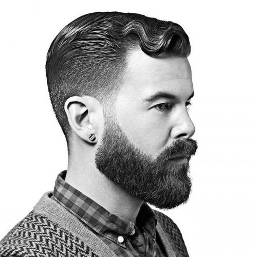 hairstyles-with-beards-31 100 Incredible Hairstyles With Beard To Try (2020)