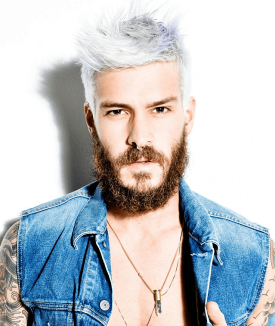 hairstyles-with-beards-4 100 Incredible Hairstyles With Beard To Try (2020)